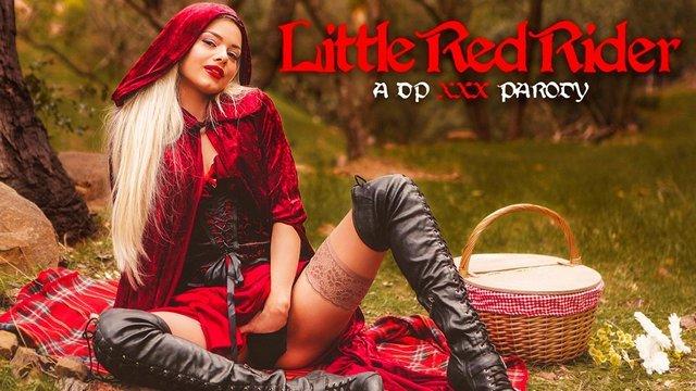 Забавное порно Элегантная Красная Шапочка предпочитает решать все свои сказочные проблемы с помощью интимных утех видео